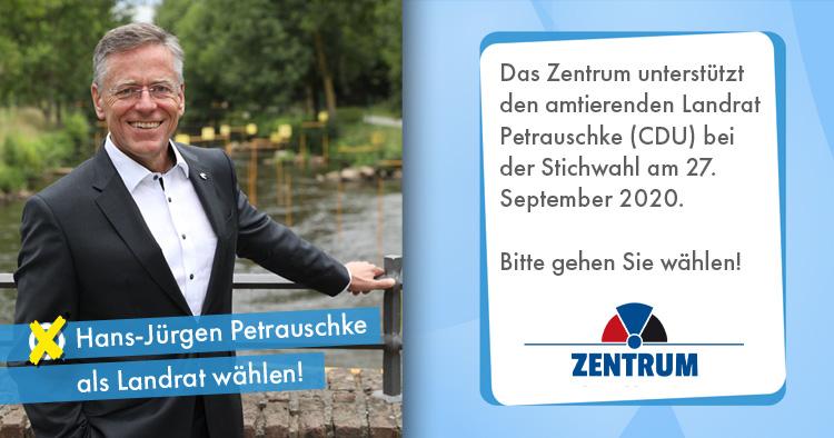 Kommunalwahl 2020 in NRW Stichwahl zum Landrat
