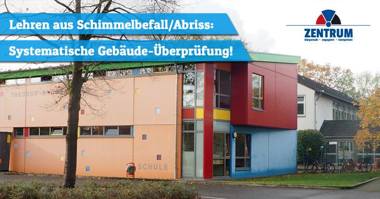 Zentrum zieht Lehren aus Schimmel an Angerhausen Schule in Dormagen