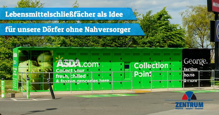 Gohr & Straberg ohne Läden - Idee Lebensmittelschließfächer vom Zentrum Dormagen