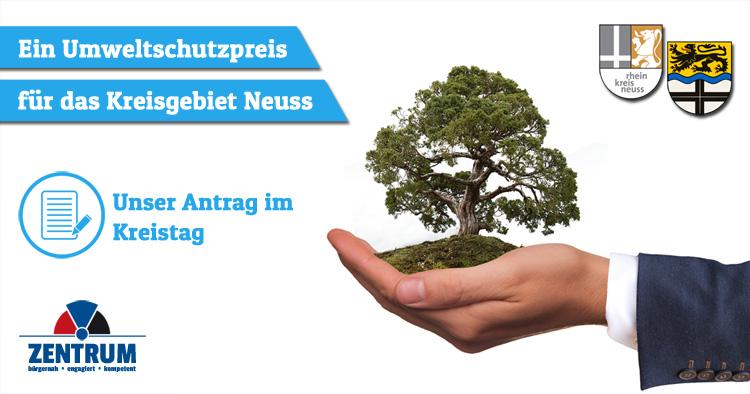 Zentrum Antrag Kreistag neuer Umweltpreis Rhein-Kreis Neuss