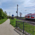 Gleise Bahnhof Nievenheim Delrath