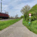 Gleise Bahnhof Nievenheim Delrath Sicherheit